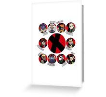 Xmen Evolution - Team Xmen Greeting Card