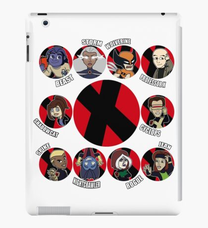 Xmen Evolution - Team Xmen iPad Case/Skin