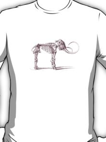 Woolly Mammoth Skeleton T-Shirt