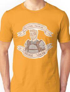 Dragon Age Origins: ALISTAIR THEIRIN DEFENSE SQUAD Unisex T-Shirt