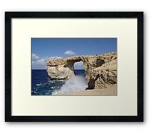 a stunning Malta landscape Framed Print