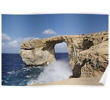 a stunning Malta landscape Poster