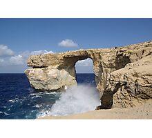 a stunning Malta landscape Photographic Print