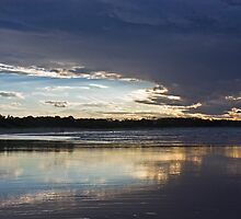Byron sunset. by Patricia Gibson