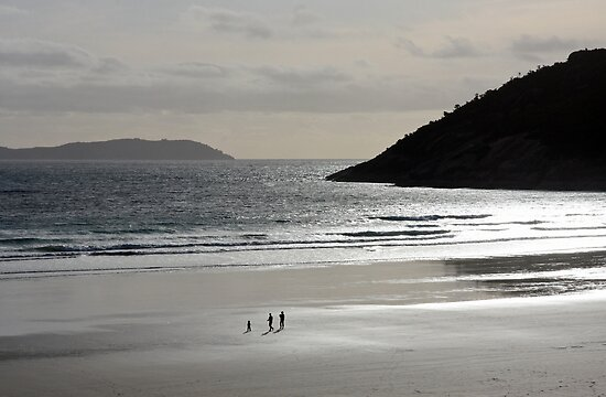 Topping Up the Soul - Norman Bay, Wilsons Promontory National Park by Ruth Durose