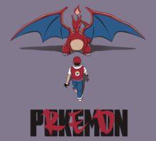 Pokémon Champion Red Kids Clothes