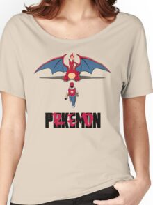 Pokémon Champion Red Women's Relaxed Fit T-Shirt