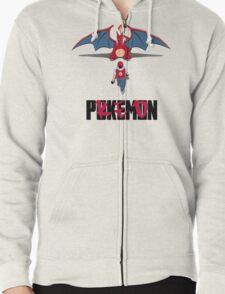 Pokémon Champion Red Zipped Hoodie