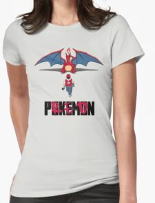 Pokémon Champion Red Womens Fitted T-Shirt