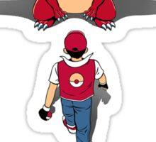 Pokémon Champion Red Sticker