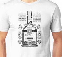 Lord of the Rings Rivendell Wine Vintage Geek Art Unisex T-Shirt