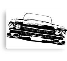 Cadillac silhouette Canvas Print