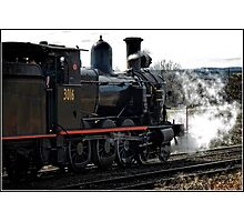 Steam Locomotive Photographic Print