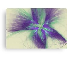Abstract Flower Sway Canvas Print
