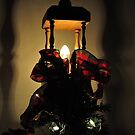Christmas streetlamp decoration by mltrue