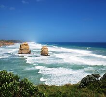 Apostles Port Campbell National Park Vic.Australia !!! by Heabar