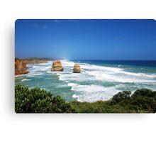 Apostles Port Campbell National Park Vic.Australia !!! Canvas Print