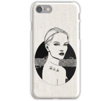 Let It Be iPhone Case/Skin