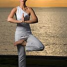 Yoga tree pose by Irena  by Stephen Colquitt