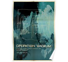 "Operation ""Badrum"" Poster"