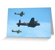 Aircraft of WW2 Greeting Card