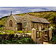 The Church of the Storms Photographic Print