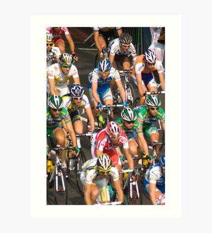 Tour of Britain 2009 Art Print