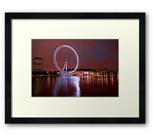 The Reflective Eye Framed Print
