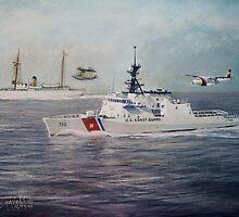 U. S. Coast Guard Then and Now - 1915-2009 by cgret82