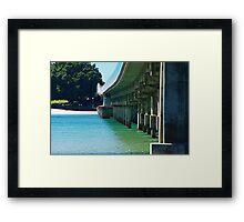 Forster / Tuncurry bridge Framed Print