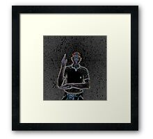 """A person of color"" Framed Print"