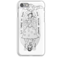 Haunted Lady in White iPhone Case/Skin