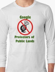 4Q T-Shirt . Style T5 Google Protectors of Public Lands Long Sleeve T-Shirt