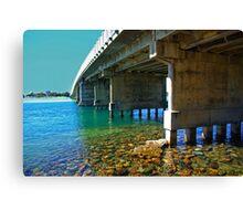 Forster tuncurry bridge Canvas Print