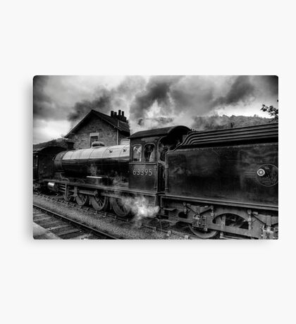 Steam Engine No.63395 Canvas Print