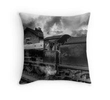 Steam Engine No.63395 Throw Pillow