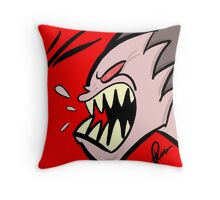 Very angry indeed Throw Pillow