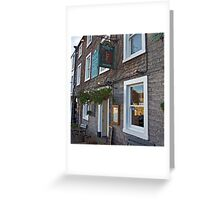 Richard III Hotel - Middleham Greeting Card