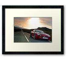 The awesome Aston Martin V12 Vantage .... Framed Print