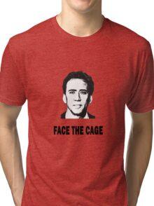 Caged Fury Tri-blend T-Shirt