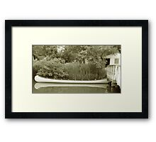 Old Town Canoe Framed Print