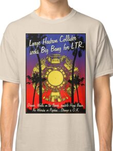 LHC WALKS ON THE BEACH Classic T-Shirt