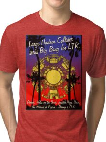 LHC WALKS ON THE BEACH Tri-blend T-Shirt