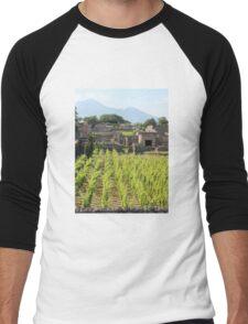 The Vineyards of Pompeii Men's Baseball ¾ T-Shirt