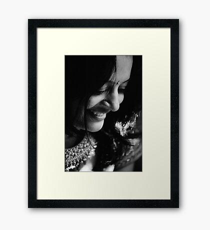 Lajja 2 Framed Print