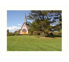 Grand Pre Church Art Print