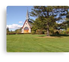 Grand Pre Church Canvas Print