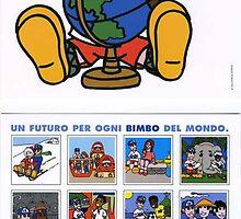 TELEFONO AZZURRO - ROMA - CALENDAR 2002 by CLAUDIO COSTA