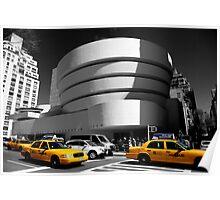 Guggenheim Museum - NY Poster