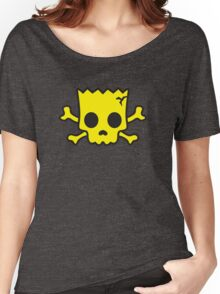yellow Skull Women's Relaxed Fit T-Shirt
